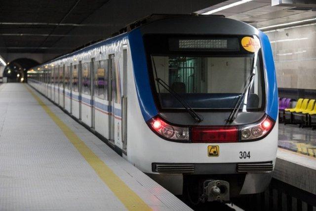 جابه جایی بیش از 900 هزارنفر با متروی تهران در یوم الله 22 بهمن