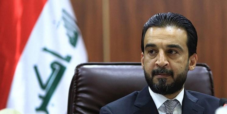 رئیس مجلس عراق: شبانه روز برای تحقق خواسته های ملت کوشش می کنیم
