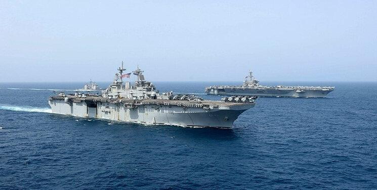 سه کشتی جنگی آمریکایی آب های منطقه را ترک کردند