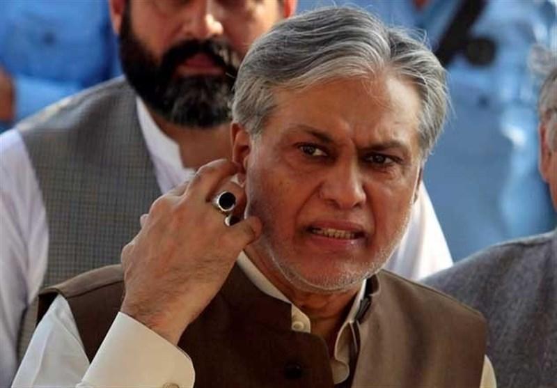 سازمان بازرسی پاکستان از ضبط 500 میلیون روپیه متعلق به اسحاق دار خبر داد