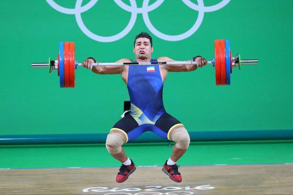 دورخیز علی هاشمی برای کسب سهمیه وزنه برداری در المپیک