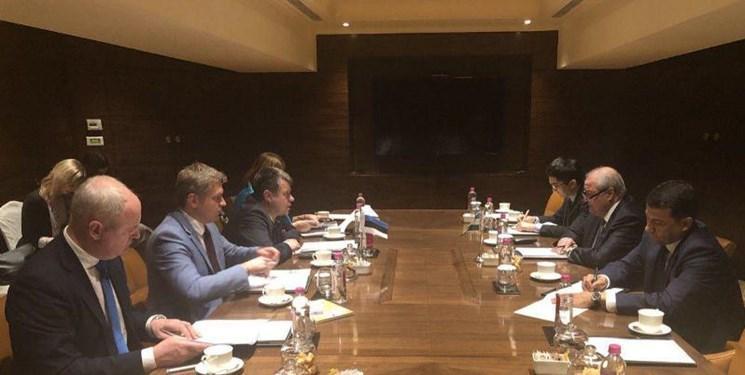 ملاقات وزرای امور خارجه ازبکستان و استونی