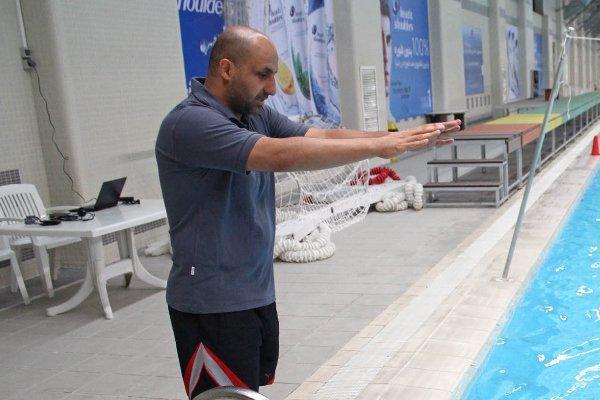 برای تمرینات داخل آب شناگران منتظر تصمیم ستاد کرونا هستیم
