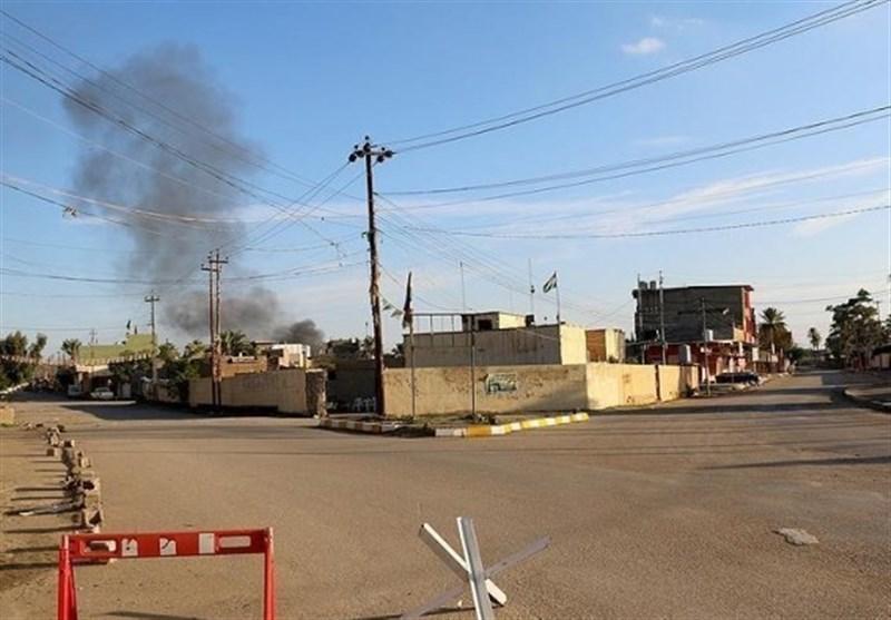 عراق ، کشف مقرهای داعش به همراه سلاح های ساخت آمریکایی در استان صلاح الدین