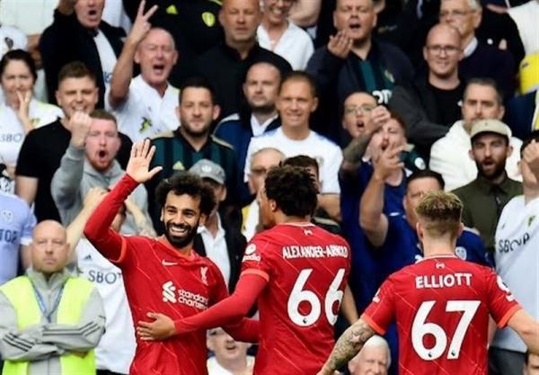 لیگ برتر انگلیس، لیورپول با یک پیروزی قاطعانه خانه لیدز را ترک کرد